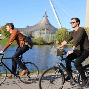 Knistergrill Fahrradhalterung